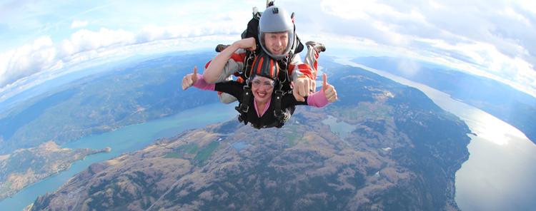 Okanagan Skydive Skydiving In Vernon Bc Canada Kelowna Penticton Salmon Arm Kamloops